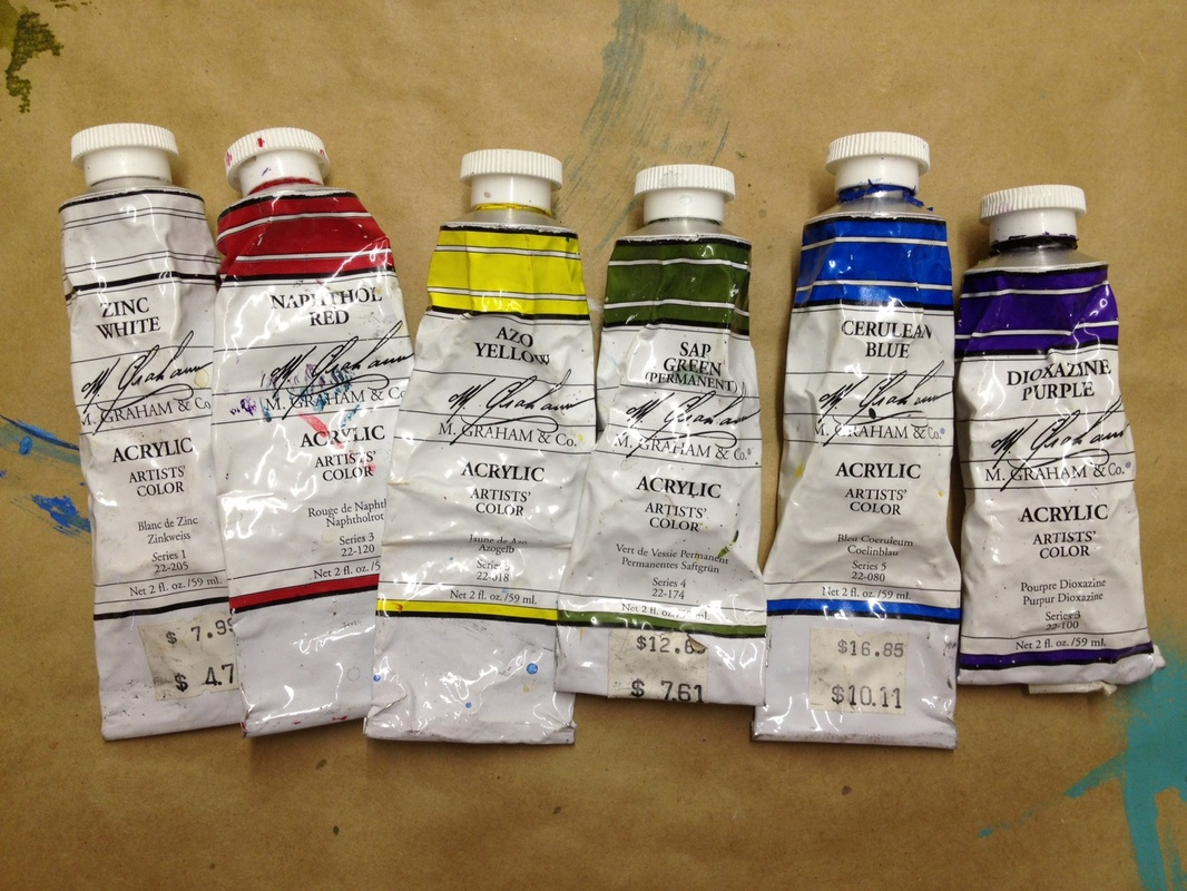 Acrylic painting supply list for Acrylic mural paint supplies
